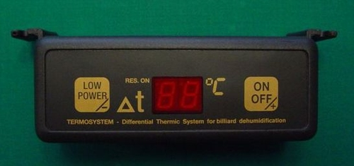 energy-efficient-thermostat including wiring for Billiards