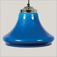 Klokmodel transparant blauw