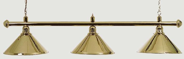 Billard Lampe Messing  per stuk