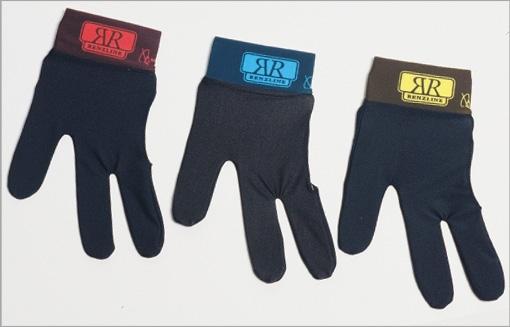 Renzline handschoen zwart- band met kleur