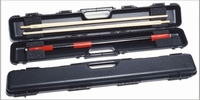 Case tail of billiards rigid Longoni Shuttle black 1 x 2