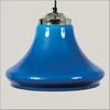 Klokmodel transparant blauw per stuk