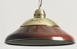 Lumière de Table de billard Rouge 45cm