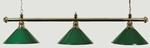 Brass Billiard Table Light - Green per stuk