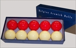 Super Aramith golf billiardtballs per doosje
