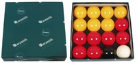 Pool balls Aramith 50,8mm per doosje