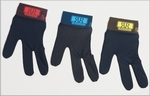 Renzline Glove black-band with color Left per stuk